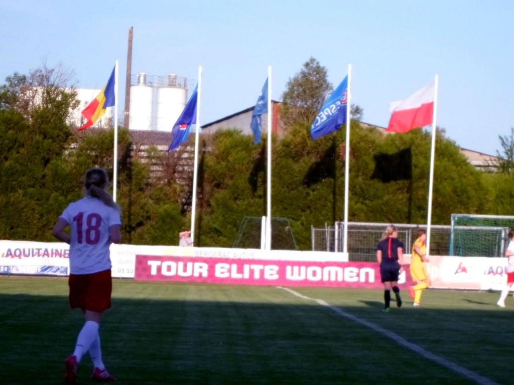 C'est en France, en Dordogne, que se déroulait les phases qualificatives de l'EURO de football féminin des Moins de 19 ans en avril 2014