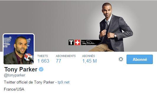 Le joueur de NBA n'hésite pas à féliciter ses camarades sportifs sur Twitter