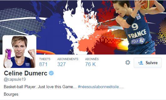La basketteuse aux 58 000 followers partage sa vie sportive sur Twitter et beaucoup de photos avec son équipe ou la sélection française